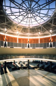 Sydney domestic airport terminal building, prior to opening