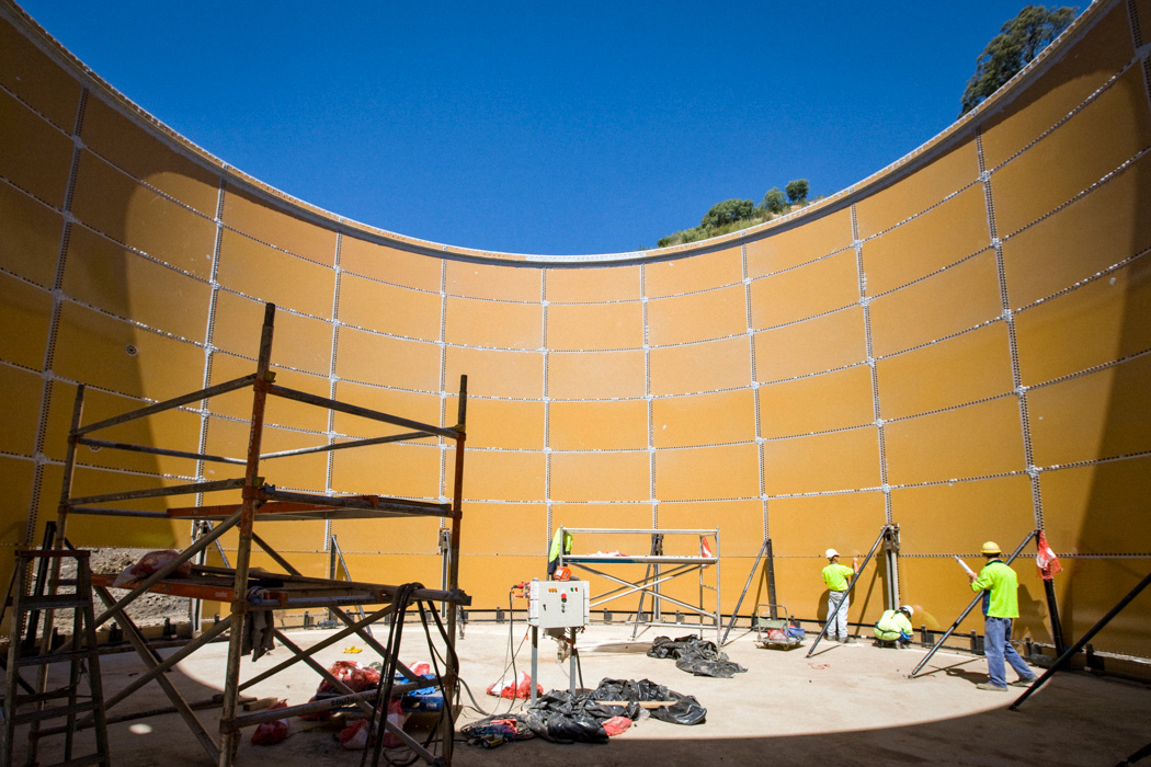 onstruction of a large tank for the SITA Australia advanced waste treatment plant at Jack's Gully NSW. Constructed in 2008, the facility was the first of its kind in Australia and one of the first in the world.