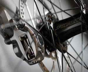 Detail of my 2003 Specialized Enduro mountain bike.
