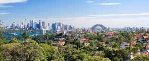 Sydney Skyline from Mosman