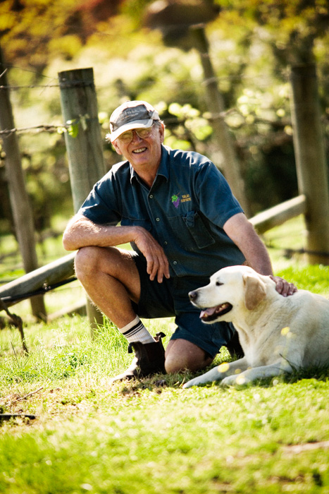 David Moss, winemaker and owner of Talai Estate Winery, Maroota NSW